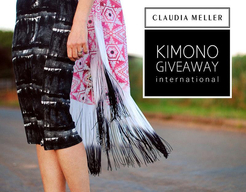 Not Dressed As Lamb Kimono Giveaway