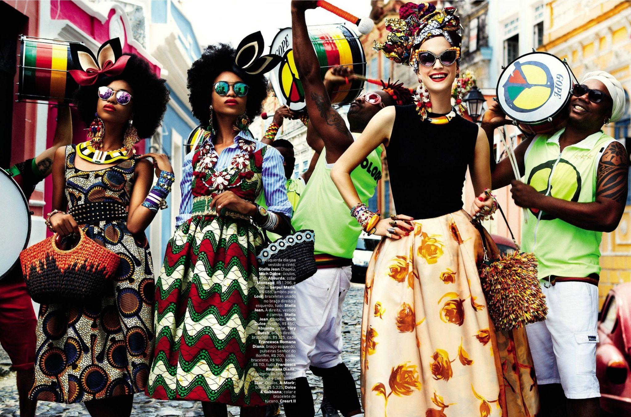 Vogue Brazil Carmen Miranda Reloaded