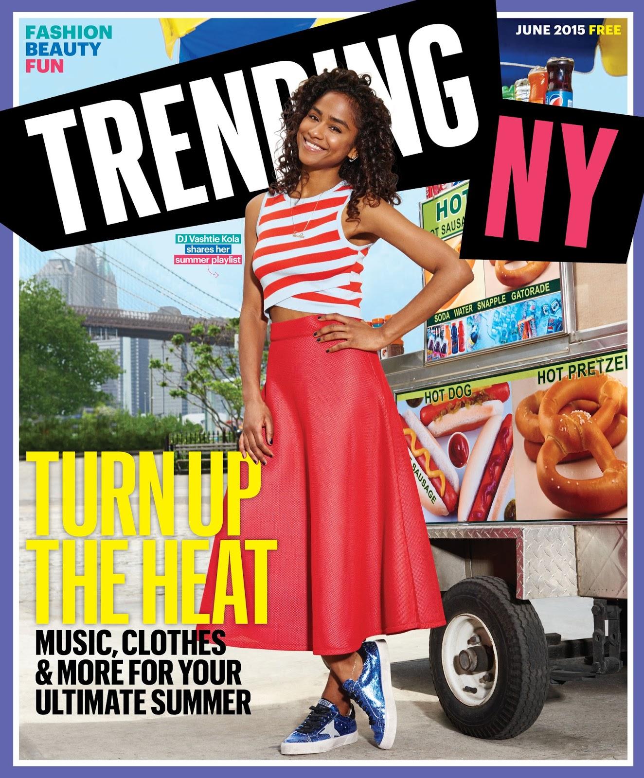 Trending NY June 2015 Cover