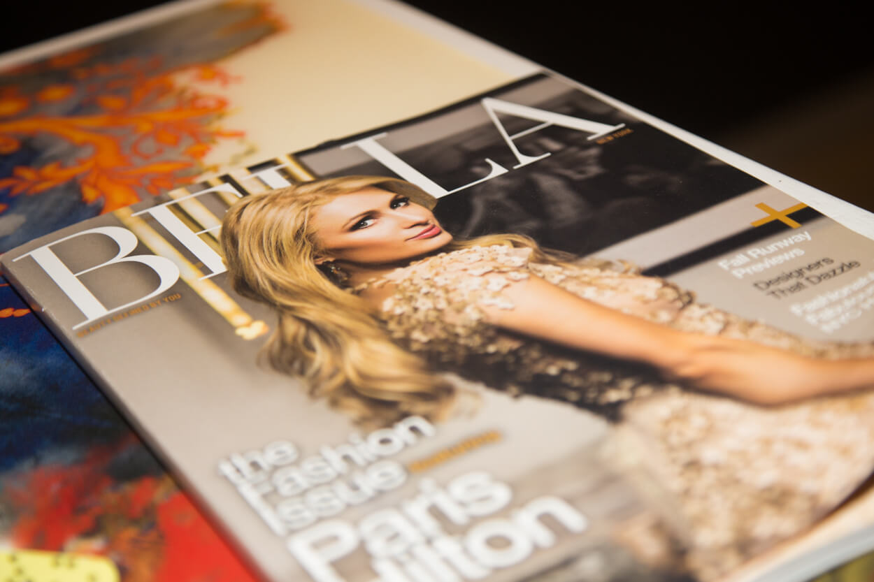 Bella Magazine proved the latest issue of their wonderful magazine.