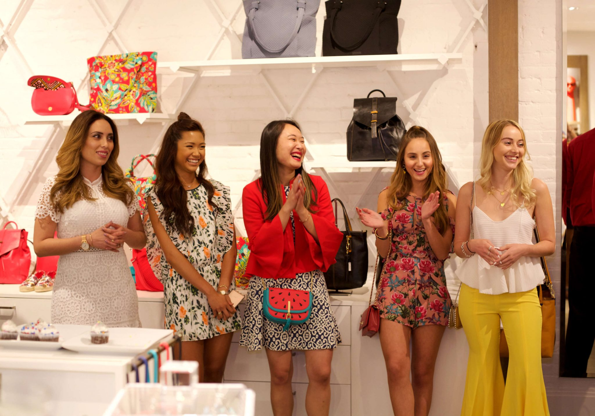Influencers Who Promoted Blogger and the Brand Shop at Vera Bradley